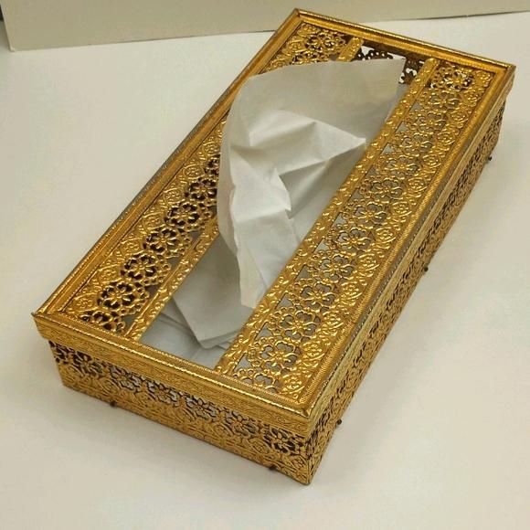 Vintage 1960s Stylebuild tissue box